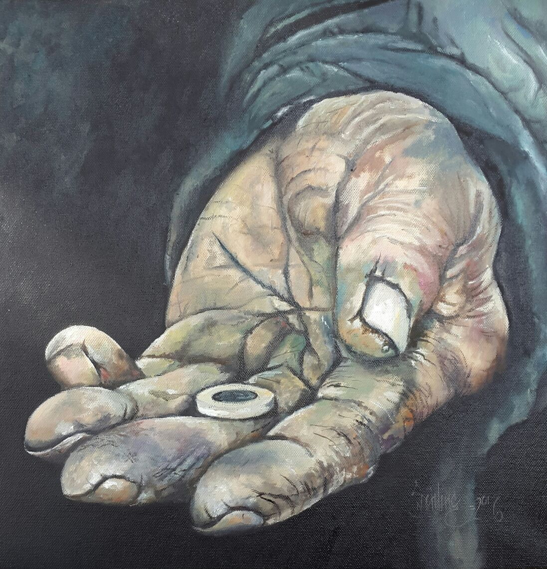 A Giving hand